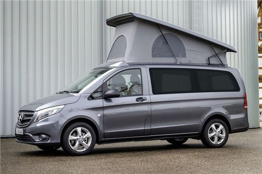 Mercedes vito camper conversions continental campers for Mercedes benz conversion van price